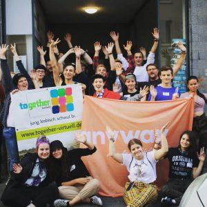 Tag 2 - Besuch im Jugendtreff together in Krefeld